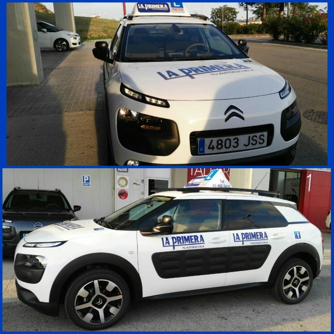 Aquí os presentamos a nuestro nuevo coche de prácticas!!